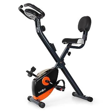 Klarfit X-Bike 700 Bicicleta estática ergómetro pulsómetro: Amazon ...