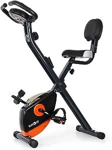 Klarfit X-Bike 700 Bicicleta estática ergómetro pulsómetro: Amazon.es: Deportes y aire libre