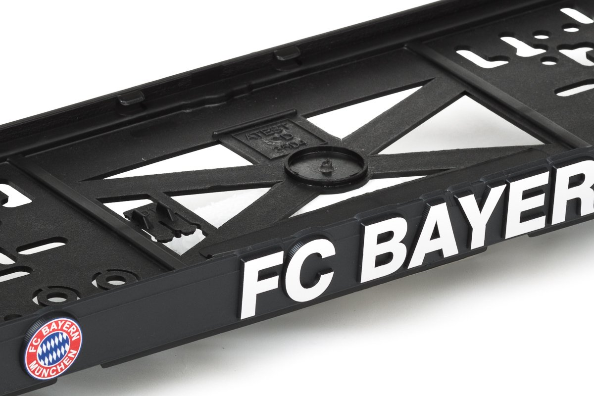 Bayern 3D Effekt Lizenz Kennzeichenhalter Nummernschildhalter Westcar