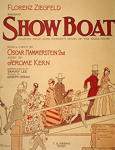 - Show Boat Poster 1927 Nposter For The Original Broadway Production Of Jerome Kern And Oscar HammersteinS Musical Show Boat 1927 Poster Print by (24 x 36)
