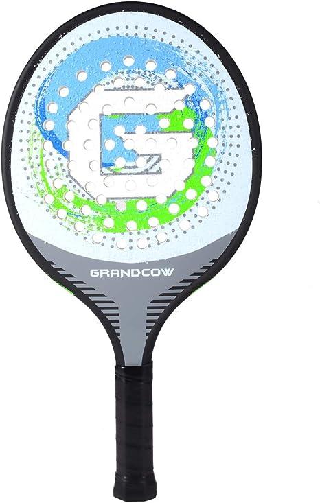 Amazon.com: Grand Cow - Raqueta de tenis (fibra de carbono ...