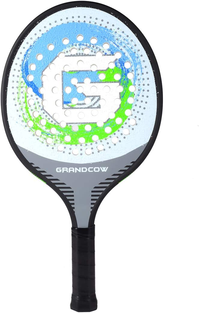 GRANDCOW Platform Tennis Paddle Racket Pro Carbon Fiber Power Lightweight Paddles Padel Racquet