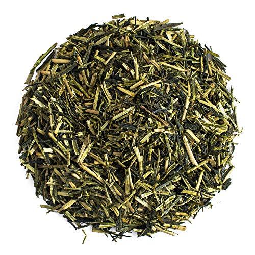 Moya Kukicha Te Verde Organico de Hojas Sueltas| 100g | El Mejor Te de Calidad de Japon | Apto para Veganos y Vegetarianos en un Bolso Cerrado