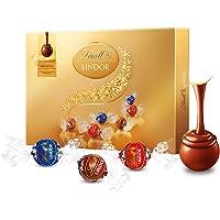 Lindt瑞士莲软心精选巧克力礼盒168g (瑞士进口)
