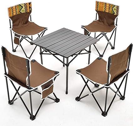 Muebles Infantil Juego De Sillas De Mesa De Camping Plegable ...