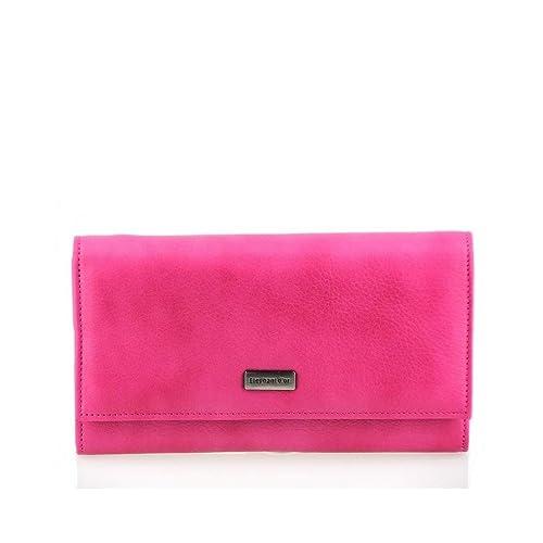 Portefeuille femme Cuir rose violet FUSHIA N1277 Compagnon   Organisateur 094ea5169eb