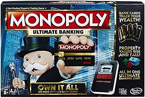 a24c25c192b Hasbro Gaming Monopoly Game: Ultimate Banking Edition: Hasbro ...