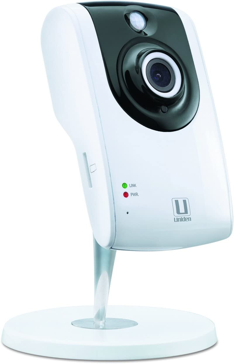 Uniden AppCam24HD HD Indoor WiFi IP Camera (White)