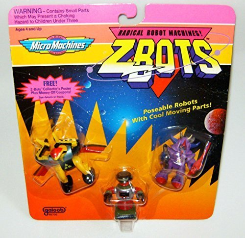 Micro Machines ZBots (Z-bots) 3 Pack #21 for sale  Delivered anywhere in USA