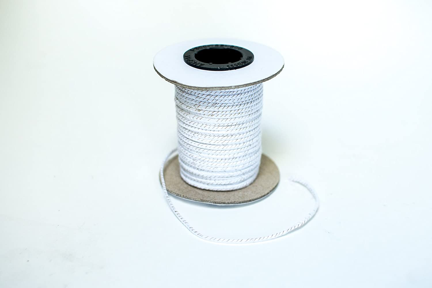 SM.NATURALWICK Spool -100 ft 100 Foot SPOOLS ECO-8 CANDLEWIC Natural Wicks for Candle Making