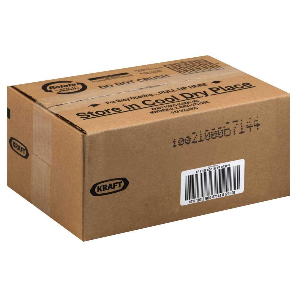 Kraft Free Raspberry Vinaigrette Dressing, Indidivual Packets, 1.5 Ounce. 60 per case