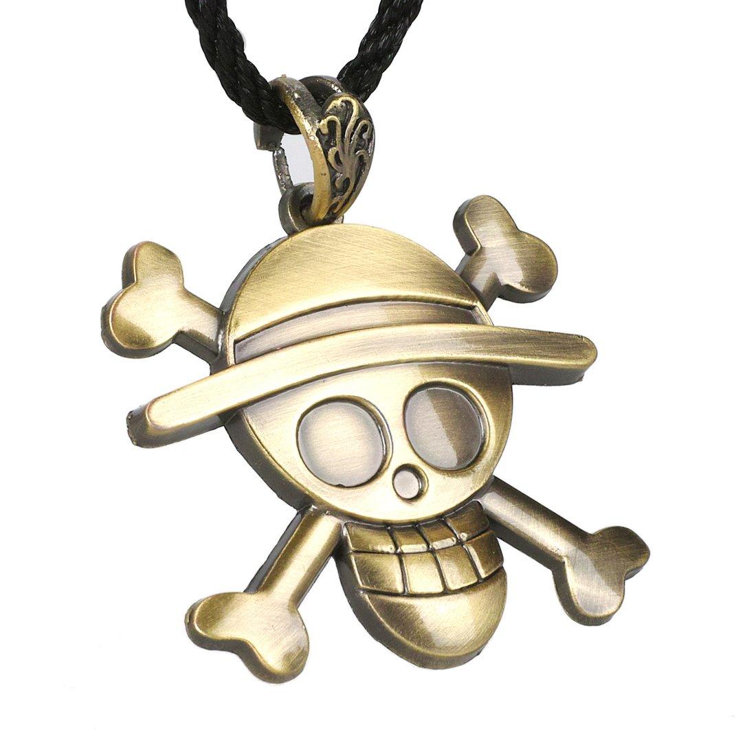 delicate CoolChange collar de One Piece con Jolly Roger de los ...