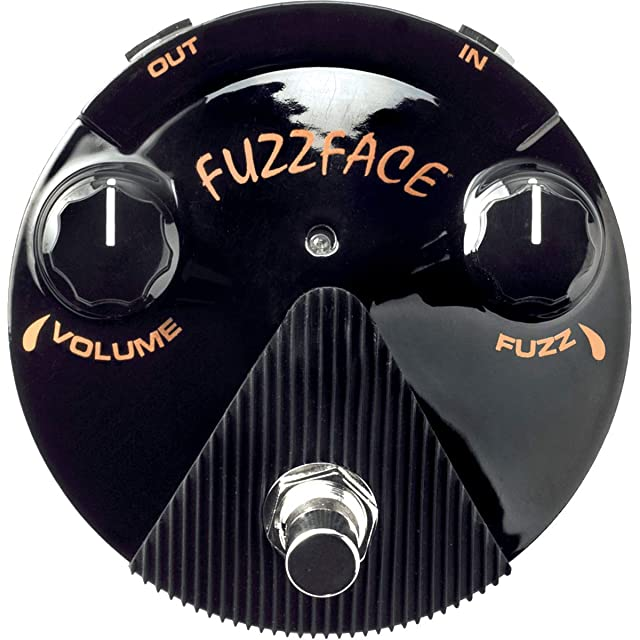 エフェクター画像 JimDunlop FFM4 Joe Bonamassa Fuzz Face Mini