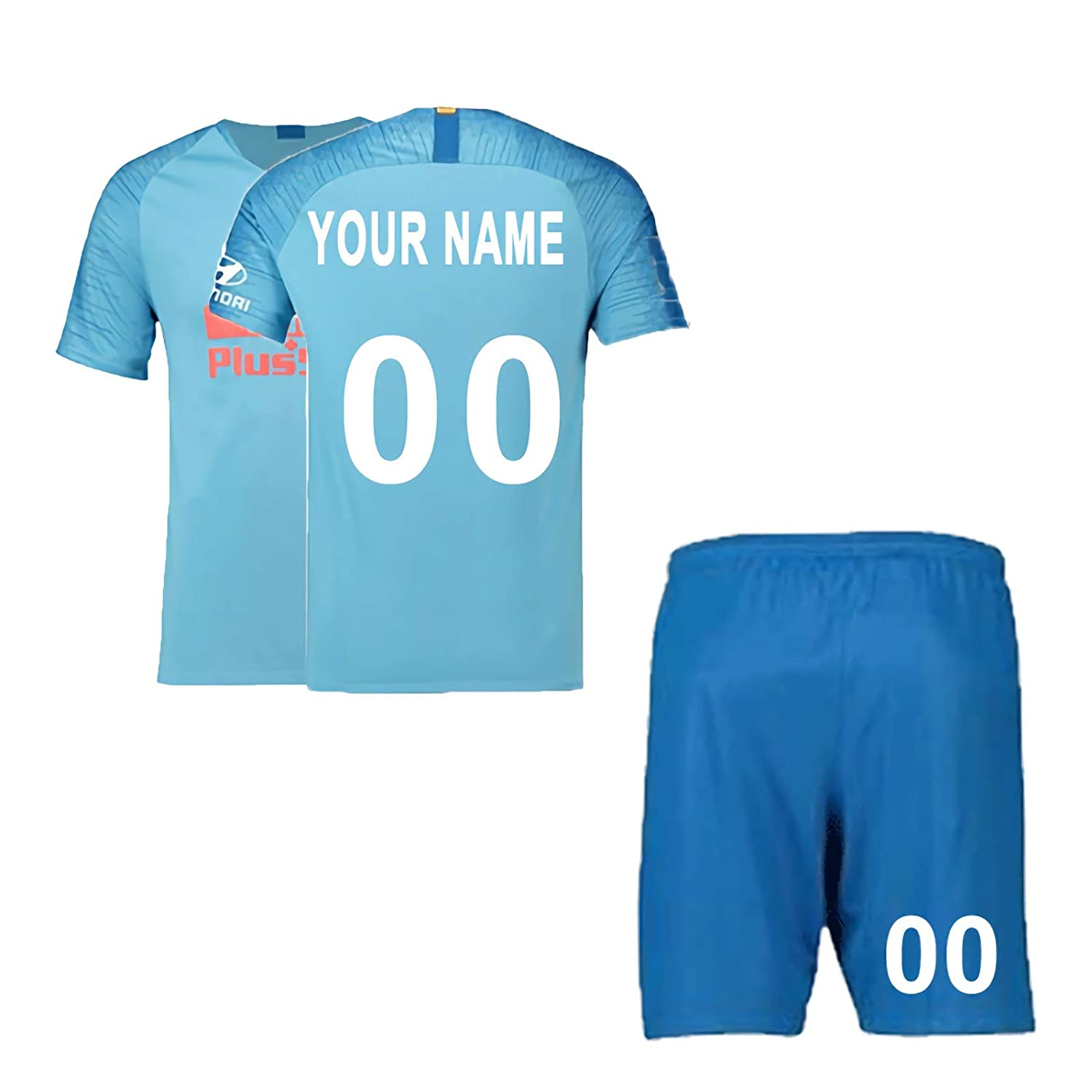 low cost dac80 2c221 Custom Soccer Jersey & Shorts Club Team (Home and Away) 2018-2019 New  Season Personalized Soccer Jersey Kits for Kids Adult Youth Boys Multiple  Clubs ...