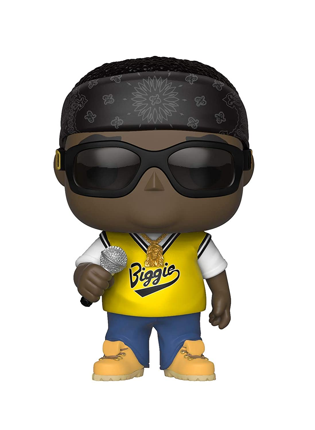 Funko Pop Rocks: Music-Notorious B.I.G. in Jersey Collectible Figure, Multicolor 31554