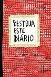 capa de Destrua Este Diário. Vermelha