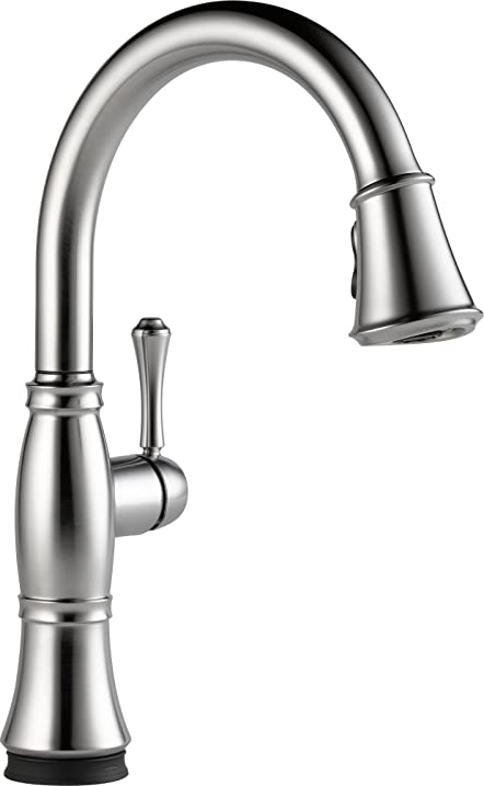 Ordinaire Delta Faucet 9197T AR DST Cassidy Single Handle Pull Down Kitchen Faucet  With