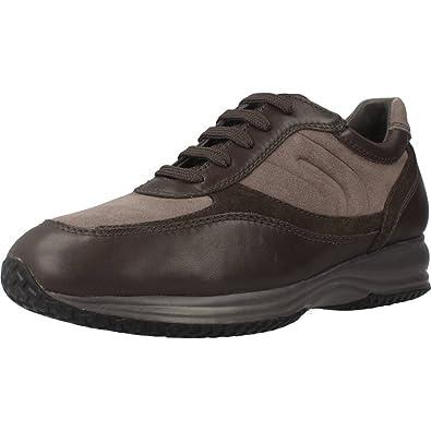 Geox U4462A02243C9297 Sneakers Homme Cuir Brun 42:
