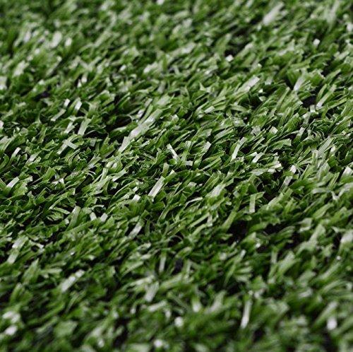 SKB Family Artificial Grass 3.3'x65.6' /0.3''-0.4'' Green Garden Wedding Decor Outdoor and Indoor