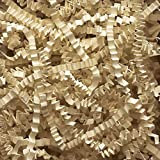 Abc 10 lb Natural Crinkle Cut Eco-Spring Fill, Filler for Gift Baskets and Boxes. 10 lb. Box, Kraft