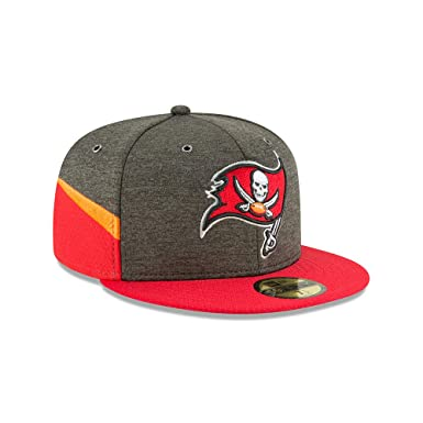 Amazon.com  New Era Tampa Bay Buccaneers NFL Sideline 18 Home On Field Cap  59fifty Fitted OTC  Clothing 960a1065e