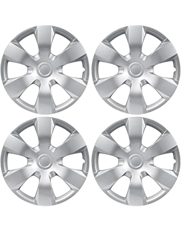 amazon hubcaps hubcaps trim rings hub accessories 1937 Ford Gauges bdk kt 1000 king1 toyota camry style hubcaps cover 16 inch silver replica