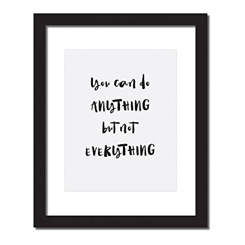 Success Motivational Office Decor/gift U0027 You Can Do Anything But Not  Everythingu0027 Inspirational