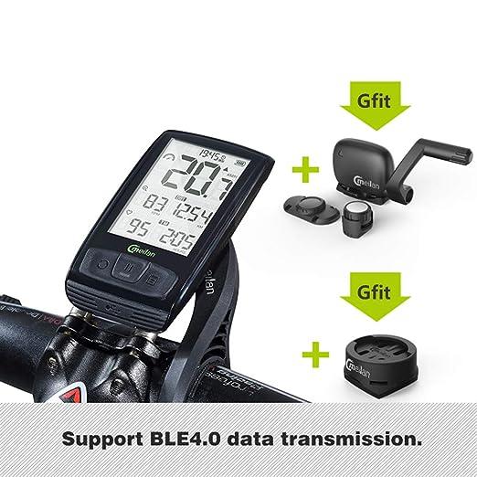 GOMOV Inalámbrico Bicicletas Ordenador Cuentakilómetros ...