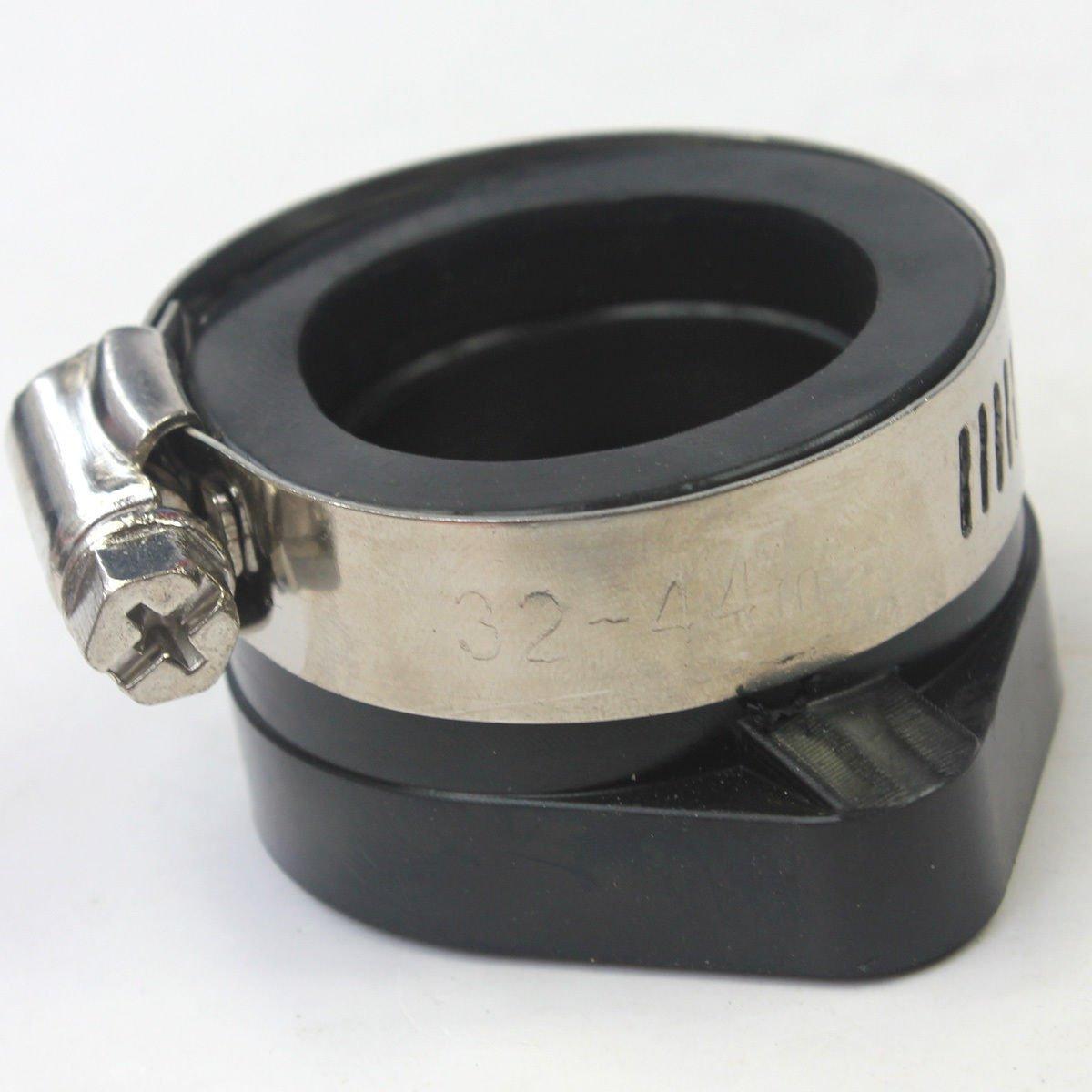 Wingsmoto Intake Manifold 27mm Carb Flange Adapter Rubber for Mikuni Carburetor VM34