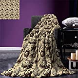 Premium Plush Throw Blanket by Pavilia Soft, Warm, Cozy, Lightweight Microfiber Perfect Gift Idea For Holidays      This lightweight blanket can also be a good choice for traveling and camping because it's light      Easy Care. No colour fading. N...