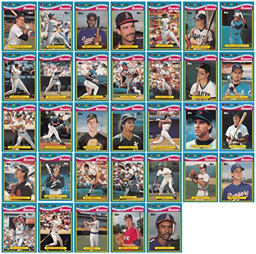 1988 Topps Toys (1988 Topps Baseball Rookies Toys R Us Exclusive 33 Card Set)
