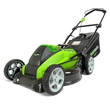 greenworks tondeuse gazon batterie twin force 40 v avec batterie et chargeur largeur - Tondeuse Jardin