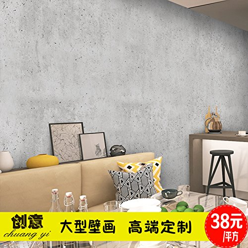 Tianlu The Concrete Wall Clothing Store 3d Wallpaper Cafe Restaurant City Gray City Wallpaper Wallpaper High Quality Imported Faux Leather Texture Stitching Square The Wall Paper Glue Water Buy Online In