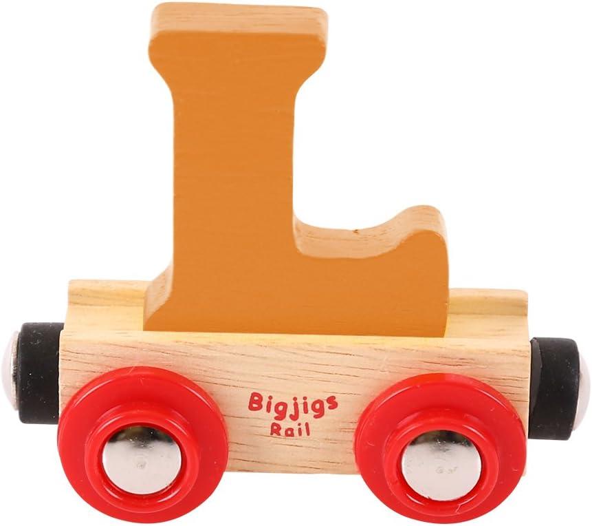 Bigjigs Rail Rail Buchstabenzug S Dunkelblau