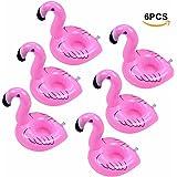 ETGtek(TM) Inflable Titular del flamenco bebidas Copa piscina flotadores Bar Coasters dispositivos de