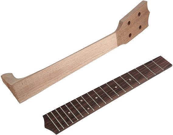 Cuello y diapasón para guitarra tenor, ukelele hawaii de 66 cm, 4 ...