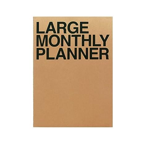 Amazon.com: JSTORY - Planificador mensual grande sin fechas ...