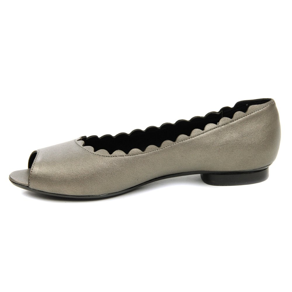 VANELi Women's 5.5 Arty Ballet Flat B01CGXKX5A 5.5 Women's B(M) US|Pewter Metallic Nappa b121fc