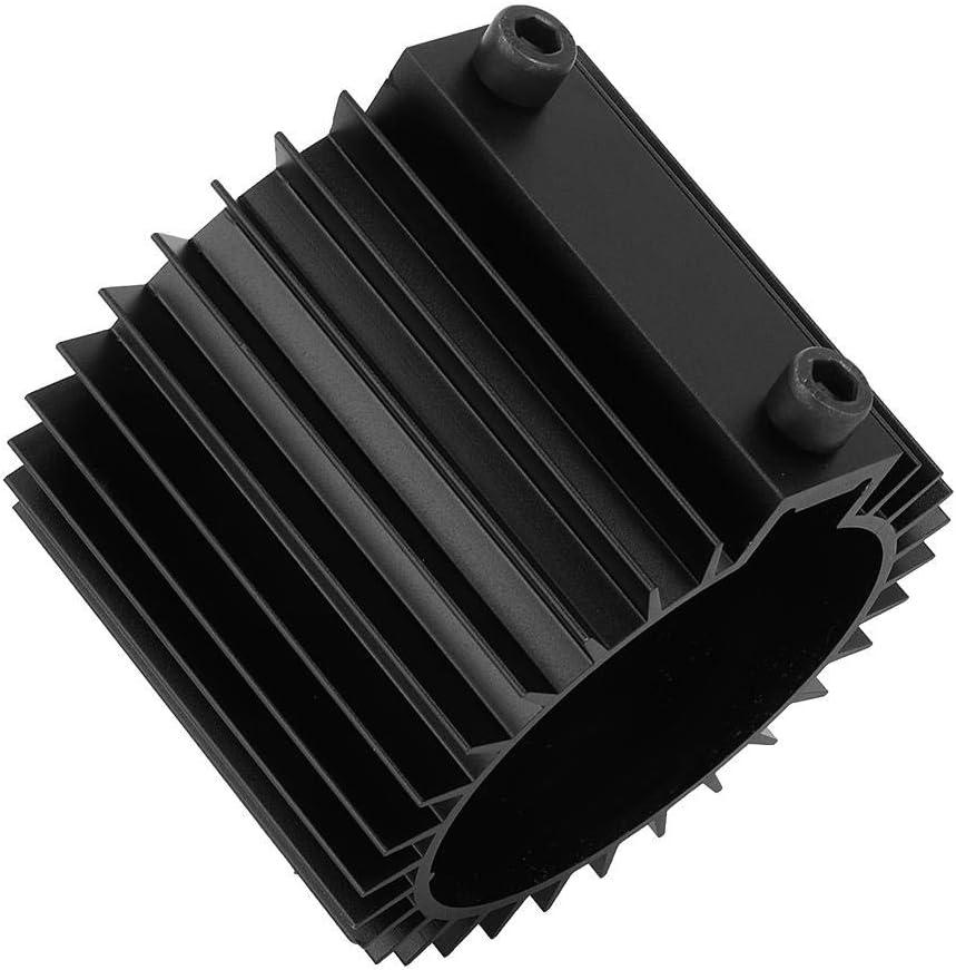 radiatore filtro olio motore auto Coperchio del dissipatore di calore Accessorio di montaggio motore in lega di alluminio EBTOOLS Coperchio del dissipatore di calore nero