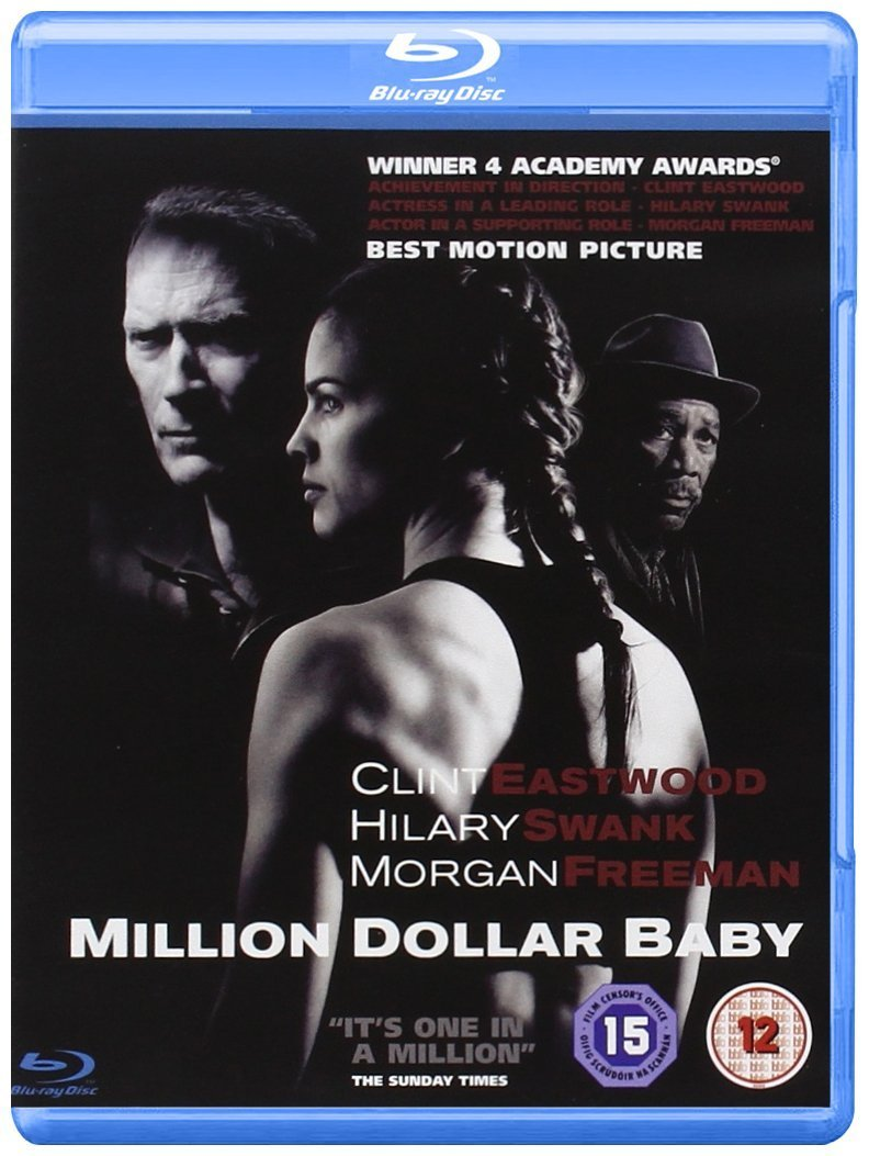 Image result for million dollar baby blu ray