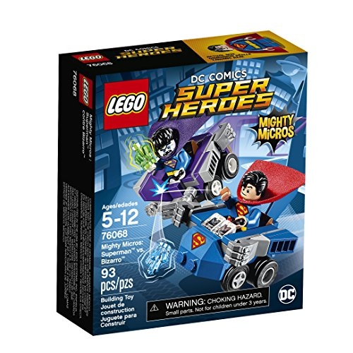 Superman Products : LEGO Super Heroes Mighty Micros: Superman Vs. Bizarro 76068 Building Kit
