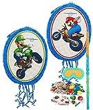 Mario Kart Wii Party Supplies - Pinata Kit