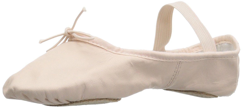 Bloch Dance Women's Dansoft Split Sole Dance Shoe, Theatrical Pink, 2.5 C US