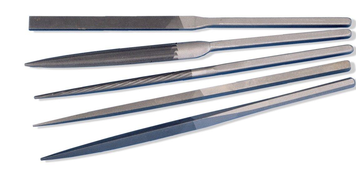 Grobet Swiss Pattern Files Ergo Grip Assorted Set of 5 Cut 00