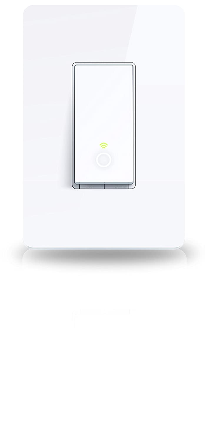 Kasa Smart Wi Fi Light Switch By Tp Link Control Lighting From 2 Gang Wiring Diagram Anywhere Easy In Wall Installation Single Pole Only No Hub Required Works With Alexa
