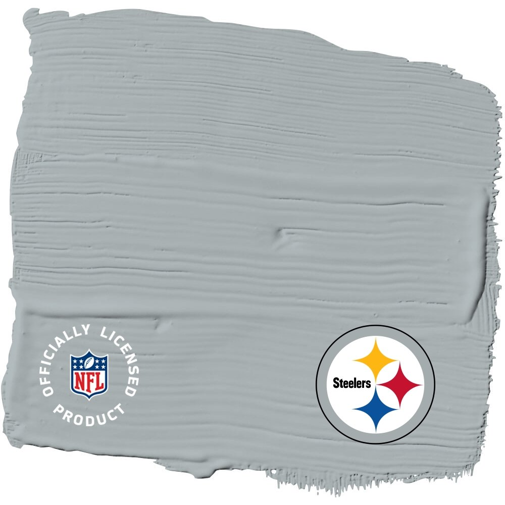 NFL Paint Color - Pittsburgh Steelers Glidden One Coat Interior Paint + Primer PPG 193000023923
