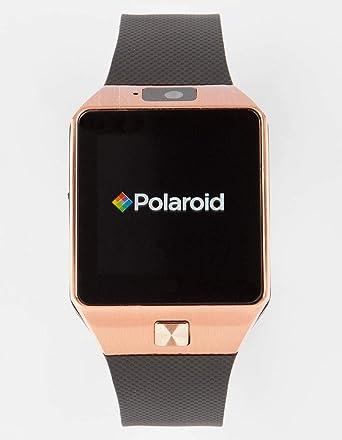 Polaroid sw1502 Smartwatch, Color Negro y Dorado: Amazon.es: Relojes