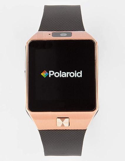Polaroid sw1502 Smartwatch, Color Negro y Dorado: Amazon.es ...