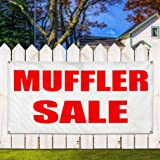 Vinyl Banner Sign Muffler Sale Business Business