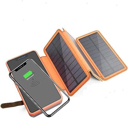 HUATINGRHEL Cargador Solar inalámbrico Banco de energía ...